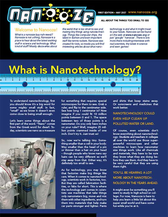 Issue 1: What is Nanotechnology