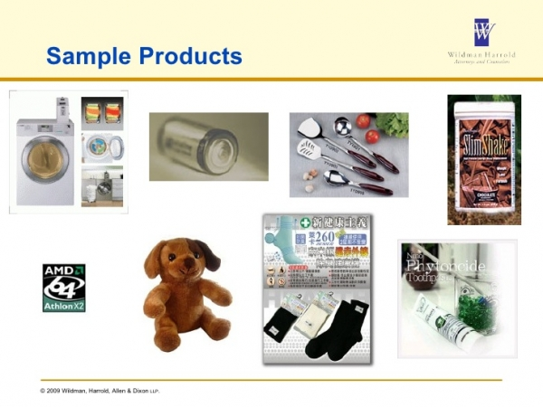 Image of nanotech-based consumer products from Slide Player: https://slideplayer.com/slide/8009690/